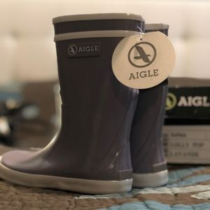 Brand new Aigle Lolly POP boots. (25)
